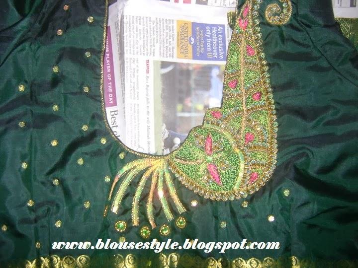 MEHENTHI DESIGN blouse