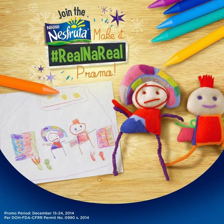 Nesfruta Make It Real Na Real Promo