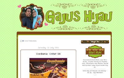 Edit Blog Gajus Hijau