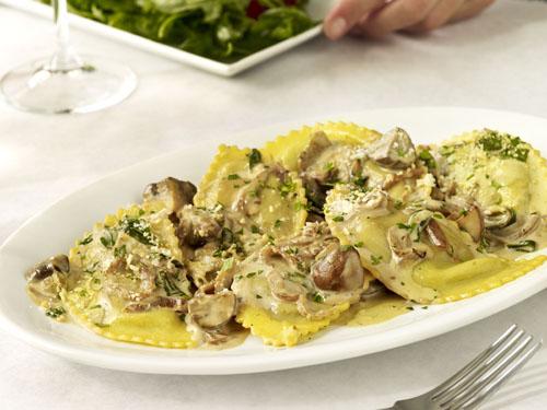 mushroom ravioli porcini mushroom stuffed ravioli marsala cream sauce ...