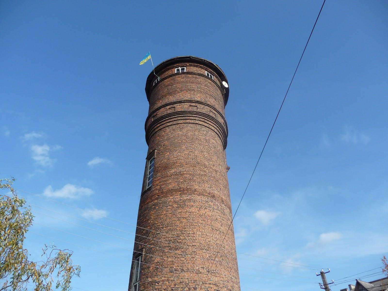 Угерско. Водонапорная башня