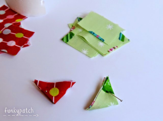 Cómo hacer un árbol de Navidad en tela sin agujas y crear un marco 3D