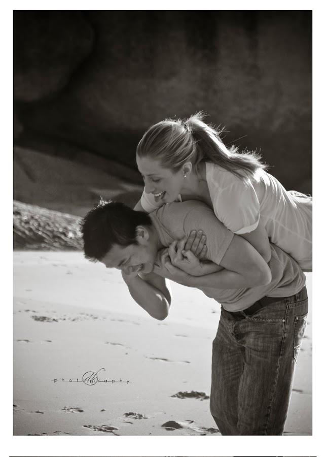 DK Photography 4 Kate & Cong's Engagement Shoot on Llandudno Beach  Cape Town Wedding photographer