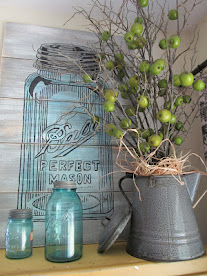 Ball Jar Sign