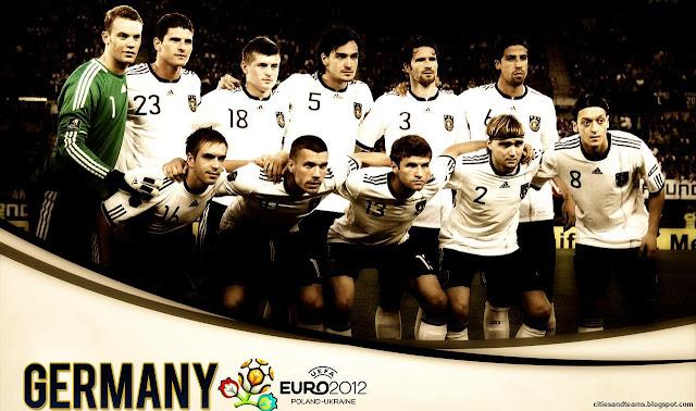 Germany National Football Team Euro 2012 Hd Desktop Wallpaper