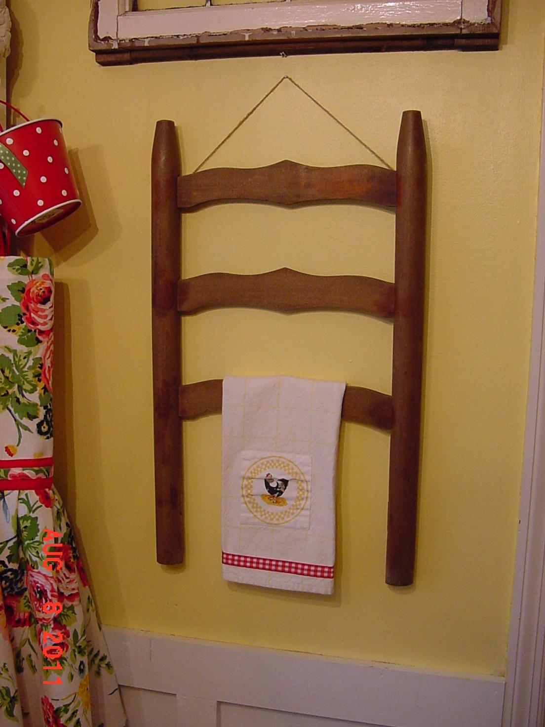 Вешалки для полотенца своими руками