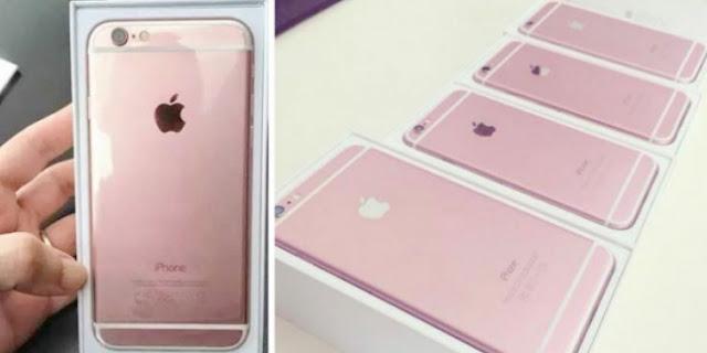 Waw! Tampil Beda, Apple Pilih Warna Pink untuk Iphone 6s, Greget!