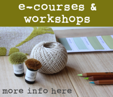 NEW... interior design & decoration e-courses and workshops for 2016