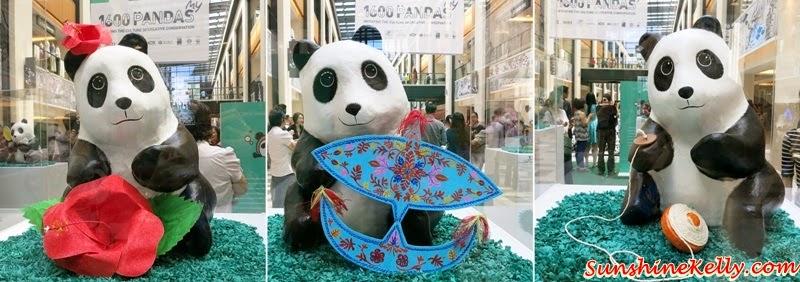 1600 Pandas World Tour in Malaysia, 1600 Pandas My, 1600 Pandas, 1600 Pandas Publika, Panda Exhibition, Pandamonium, Environmental Conservation