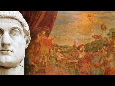 Constantine the Great - Battle of the Milvian Bridge (312) - In hoc signo vinces