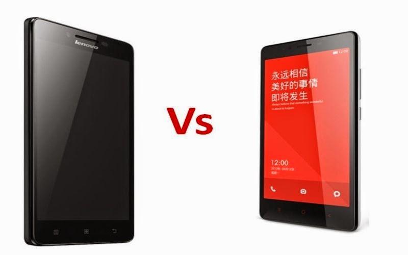 Perbandingan Lenovo A6000 vs Redmi 1S, Manakah yang Lebih Baik ?