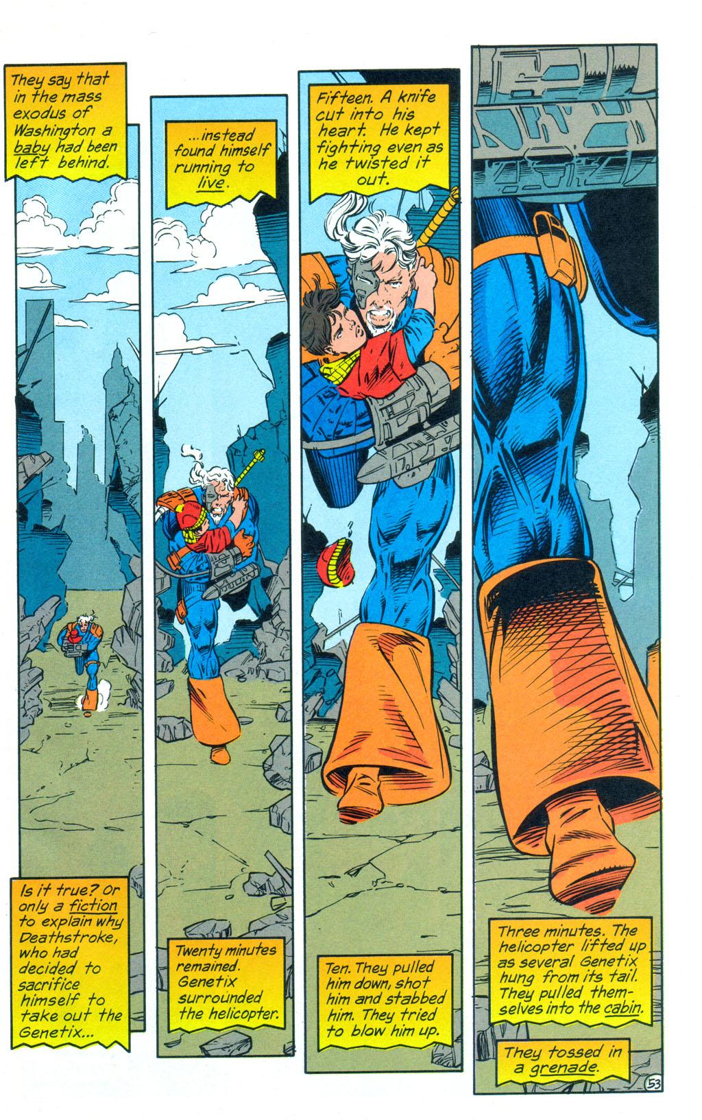 Deathstroke (1991) Annual 3 #3 - English 54