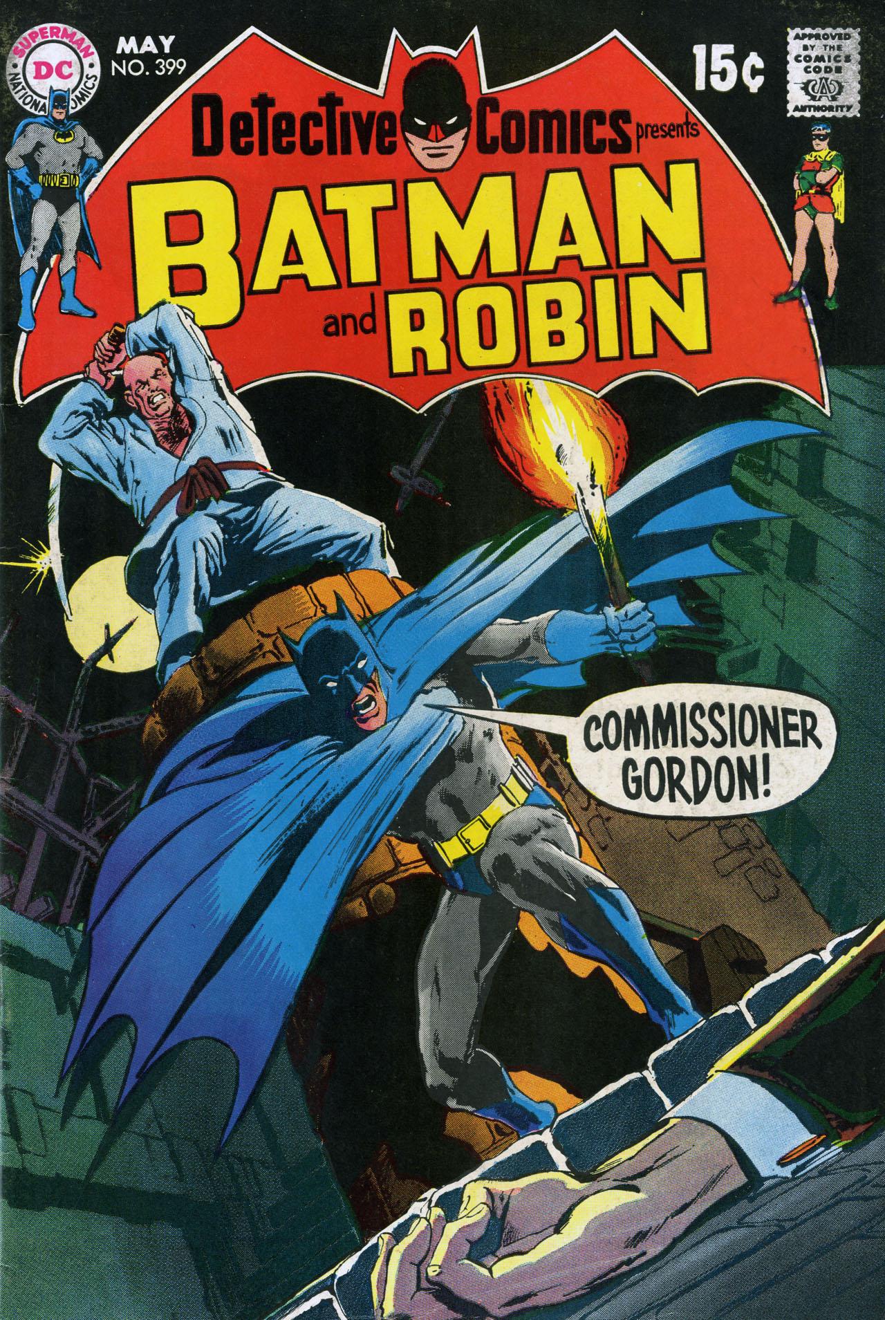 Detective Comics (1937) 399 Page 1