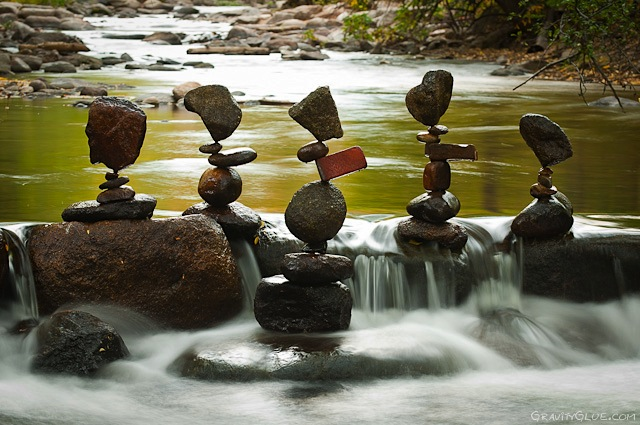 Rock Sculptures by Michael grave