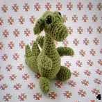 free amigurumi pattern dragon