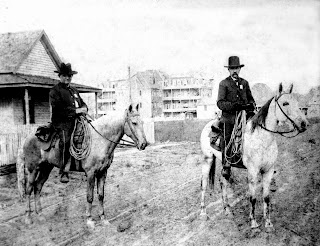 One of the oldest known pictures of the Houston Police Department.