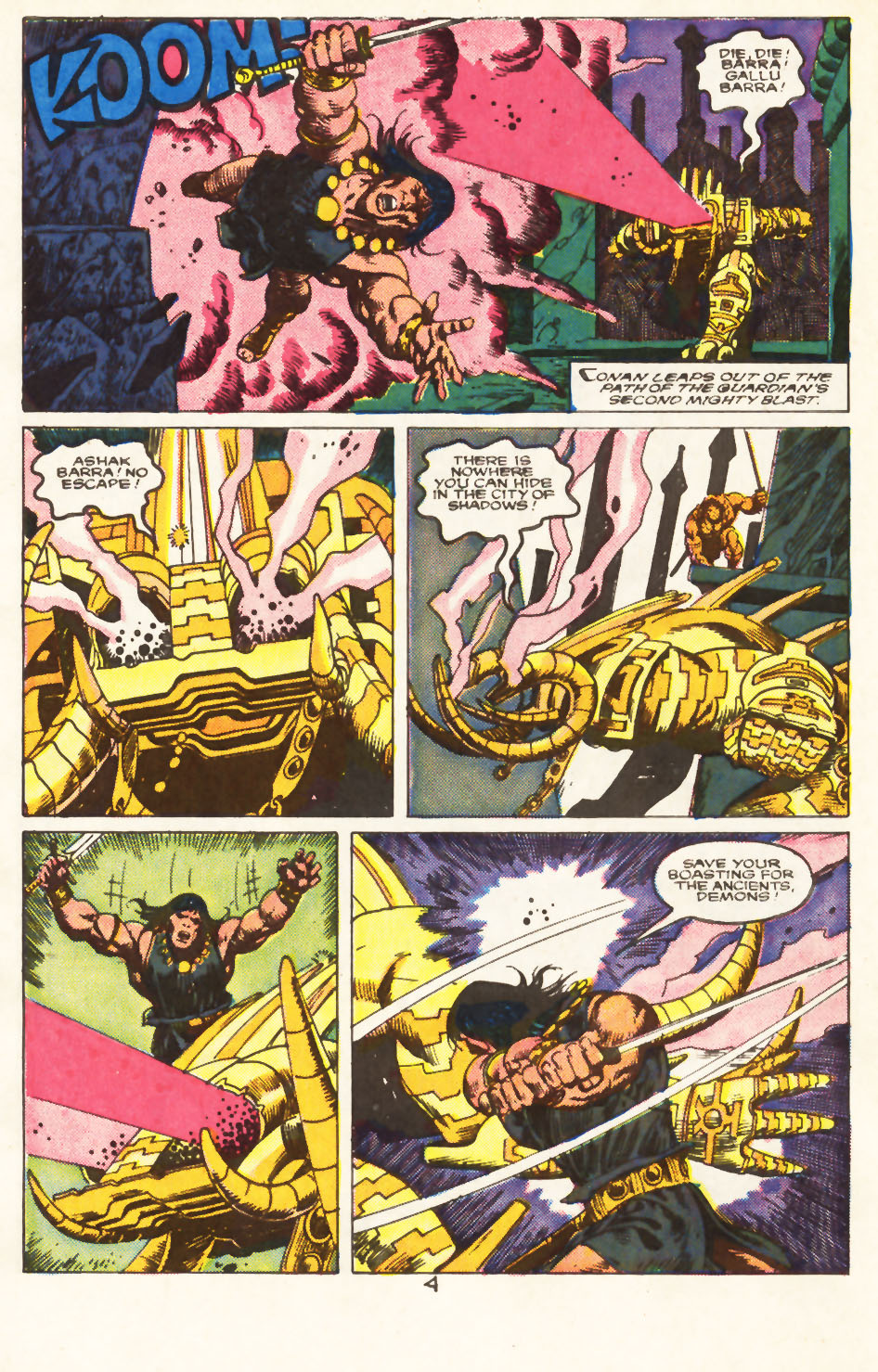 Conan the Barbarian (1970) Issue #217 #229 - English 5