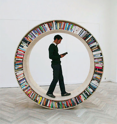 Creative Bookshelves and Unusual Bookcases (15) 7