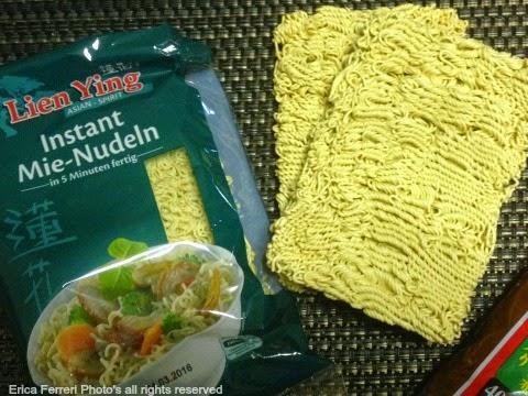 tipi di noodles per ramen