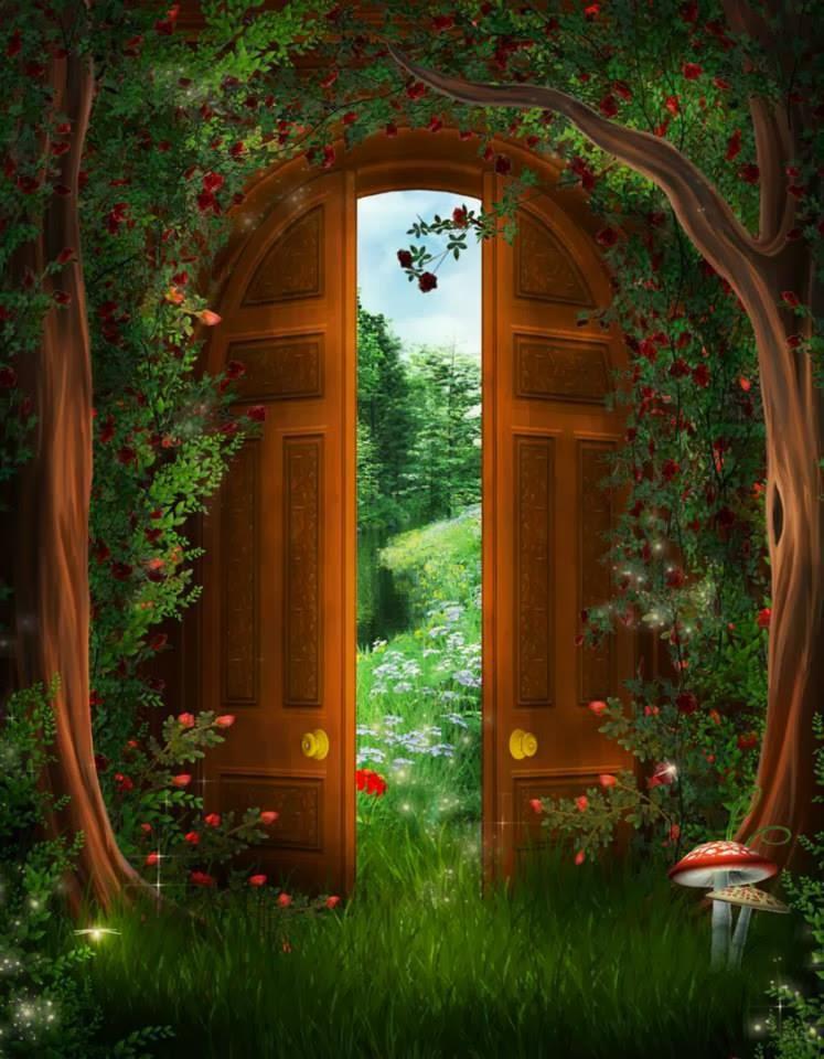 Puerta al paraíso...