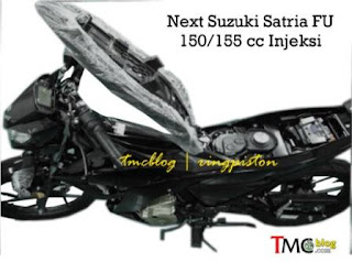 Suzuki Satria FU Injeksi 150/150cc Rilis Akhir Tahun 2015