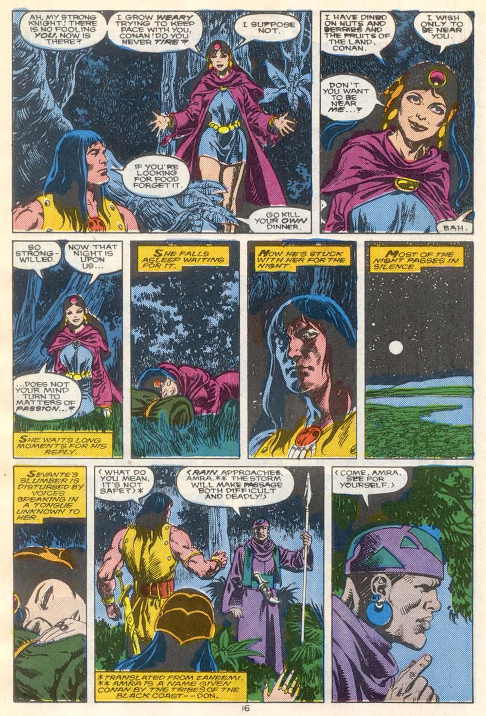 Conan the Barbarian (1970) Issue #210 #222 - English 13