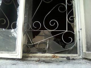 В Киеве подожгли штаб ОУН