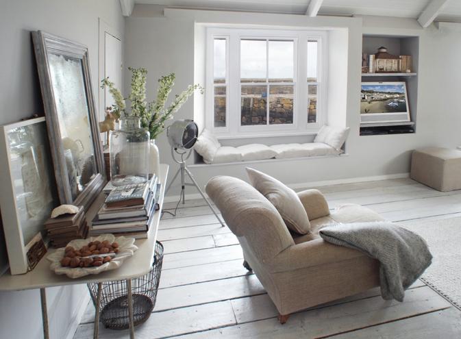 Il bianco e le sue mille sfumature   shabby chic interiors