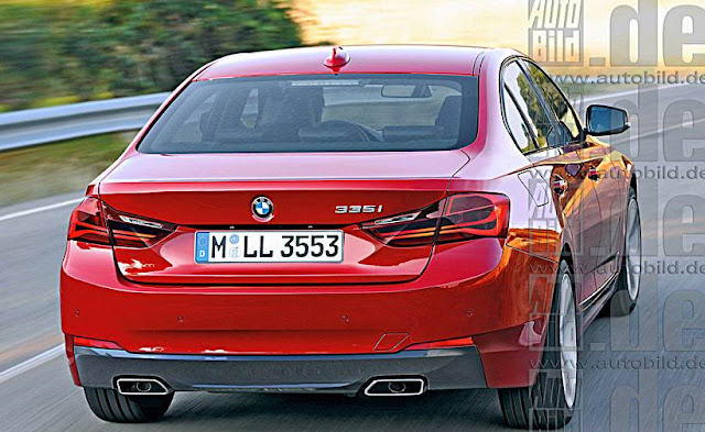 2018 BMW G20 3 Series Renderings