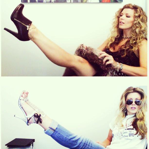 leg up fashion shoe shots
