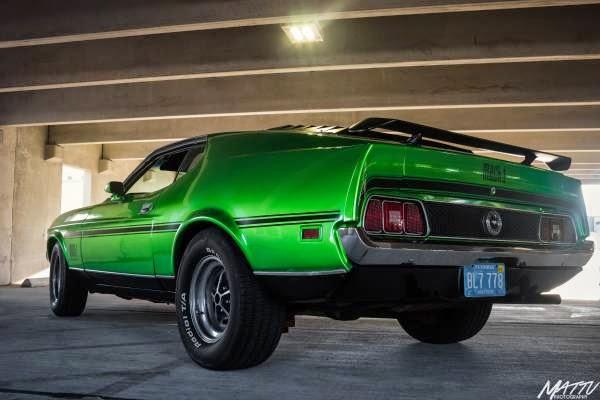 1972 Ford Mustang Mach 1 351 Cobra Jet Q Code - Buy ...