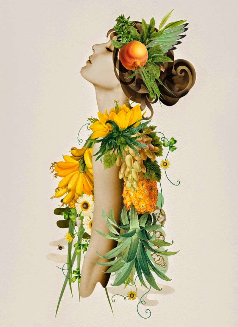 Fruit and vegetable for beautiful fashion