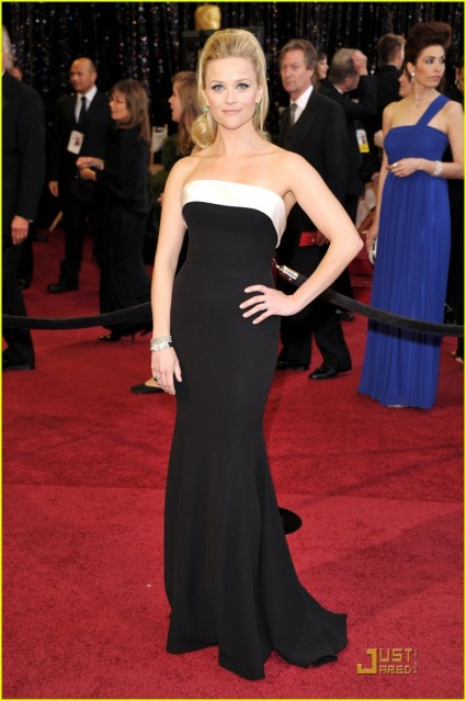reese witherspoon oscars hair 2011. reese witherspoon oscars hair
