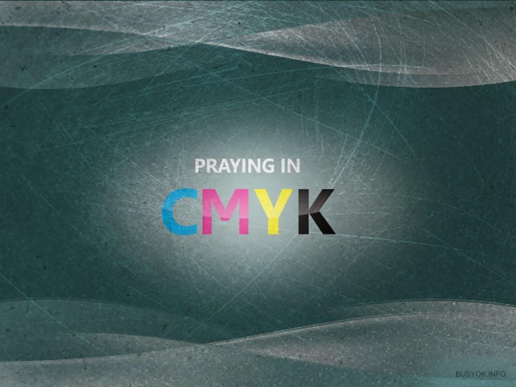 Arteclip: Free Christian Wallpaper: Praying in CMYK