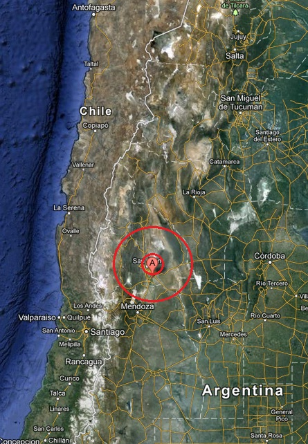 san juan, argentina earthquake 2013 March 29