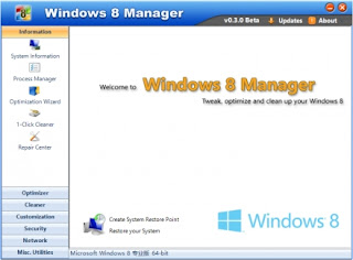 download gratis Yamicsoft Windows 8 Manager v1.1.2 Full Patch terbaru