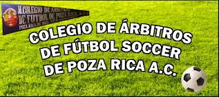 H.COLEGIO DE ARBITROS DE FUTBOL POZA RICA REG 59