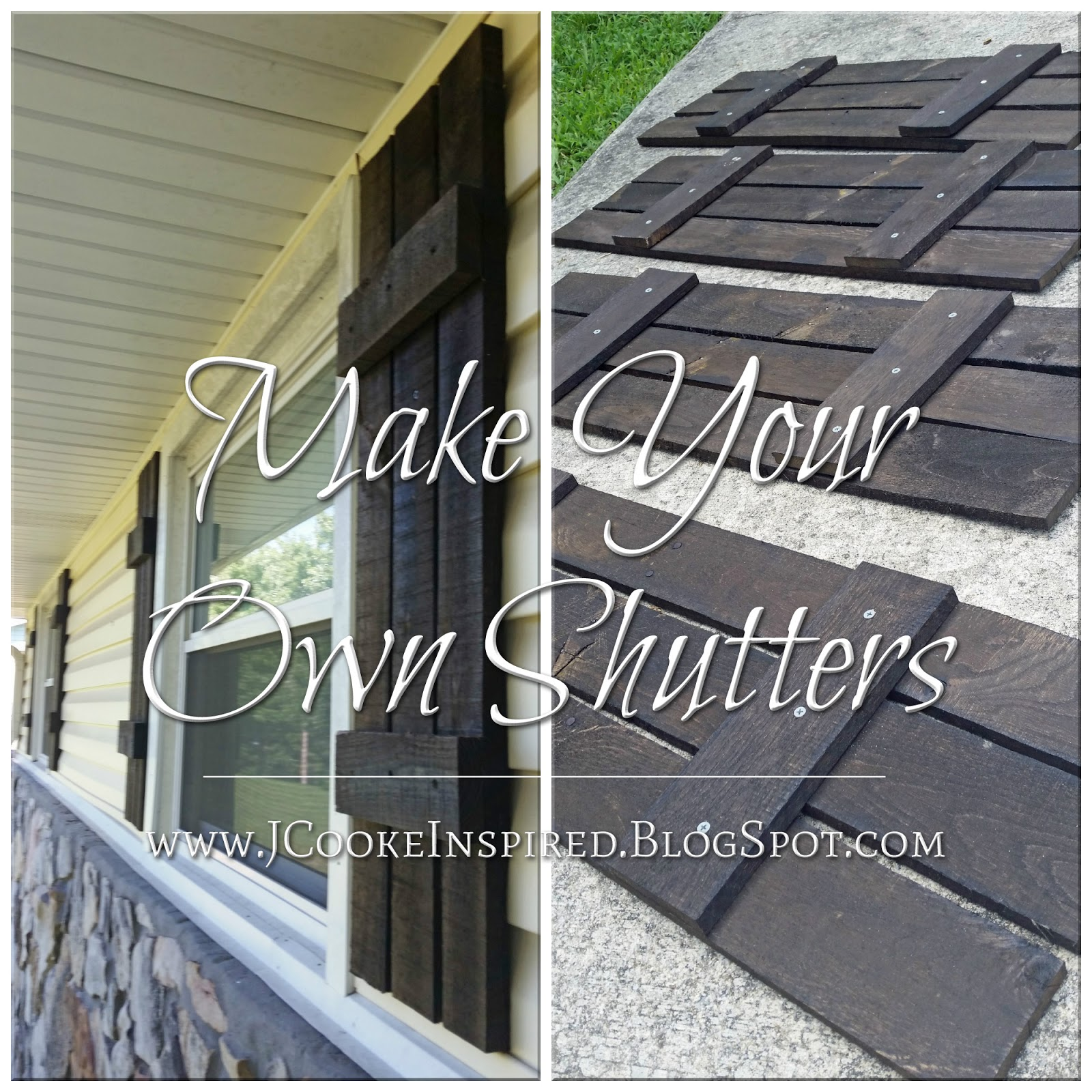 Awesome Diy Exterior Shutters Ideas - Amazing Design Ideas - luxsee.us