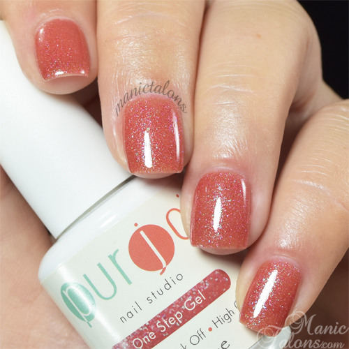 Purjoi One Step Gel Polish Fairy Dust Swatch