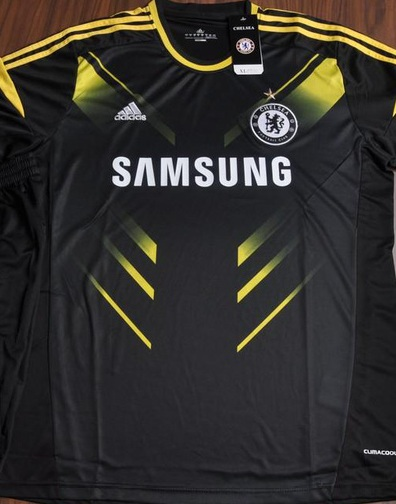 Jersey Chelsea Hitam Away 3rd