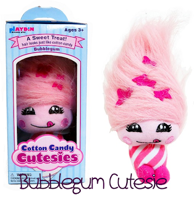 Cotton Candy Cutesie Bubblegum Toy