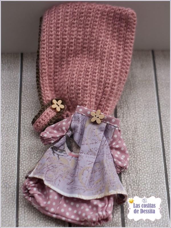 set golondrina crochet gorro