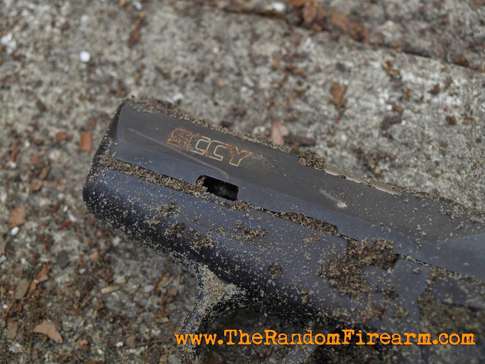 sccy cpx-2 buried torture test cpx2 broken dylan benson random firearm