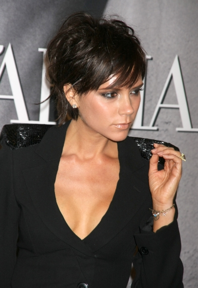 Victoria Beckham Shows Off Short New HairStyle
