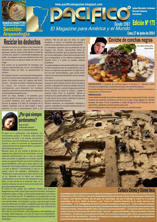 Revista Pacífico Nº 175 Arqueología