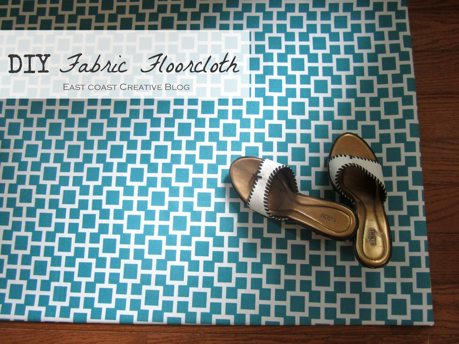 ... floor mat) out of fabric? You totally can. Hallelujah! Plus, itu0027s so  ridiculously easy youu0027ll want to make one for every room of your house!