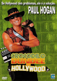 Filme Crocodilo Dundee 3 Em Hollywood Dublado AVI DVDRip