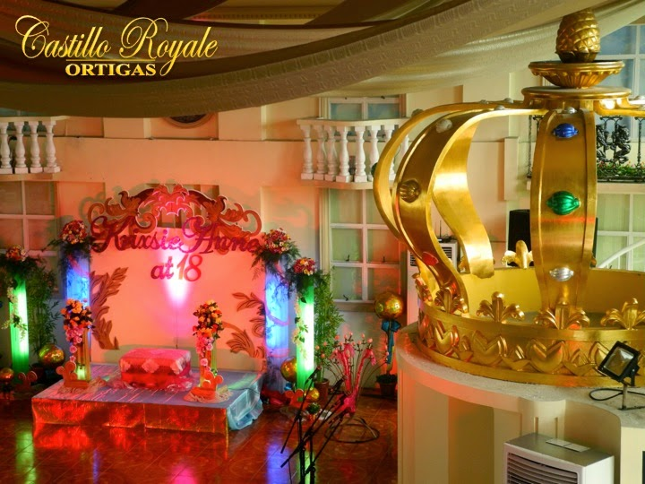 Events location in the philippines castillo royale ortigas for 8 salon taytay rizal