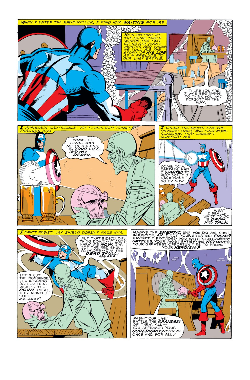 Captain America (1968) Issue #326 #255 - English 7