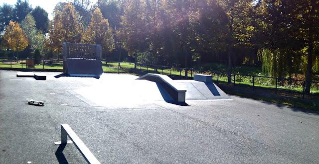Skatepark Luynes Indre et Loire